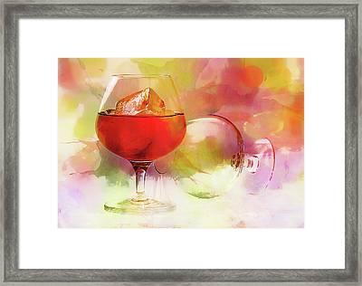 Brandy On A Whimsy Framed Print