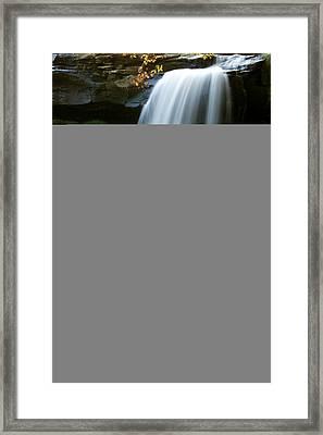 Brandywine Falls IIi Framed Print by Amanda Kiplinger