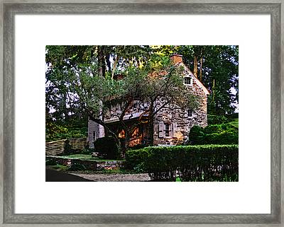 Brandywine Homestead Framed Print by Gordon Beck