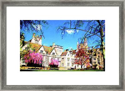 Branford Framed Print