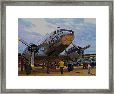 Branson Airshow 2009 Framed Print by Julie Grace