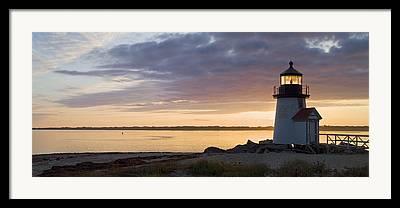 Cape Cod Lighthouse Framed Prints