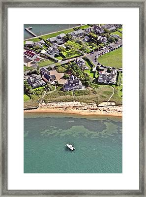 Brant Point House Nantucket Island 2 Framed Print by Duncan Pearson