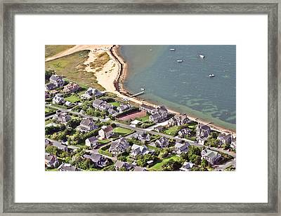 Brant Point House Nantucket Island 4 Framed Print by Duncan Pearson