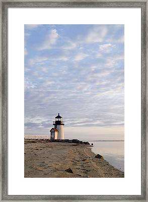 Brant Point Light - Nantucket Framed Print by Henry Krauzyk