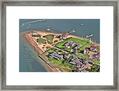 Brant Point Light House Nantucket Island 2 Framed Print by Duncan Pearson