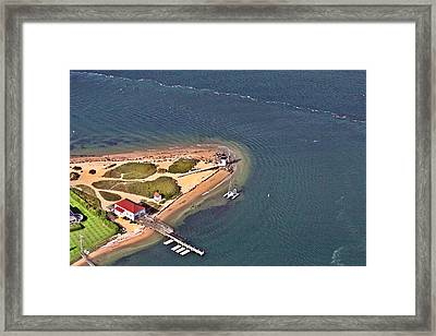 Brant Point Light House Nantucket Island 4 Framed Print by Duncan Pearson