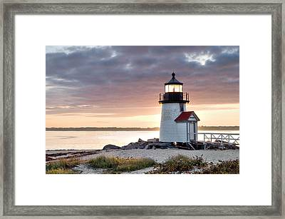 Brant Point Light Nantucket Massachusetts Framed Print