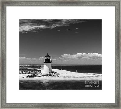 Brant Point Lighthouse Framed Print by Michelle Wiarda