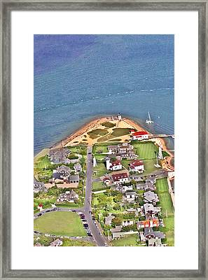 Brant Point Nantucket Island Framed Print by Duncan Pearson