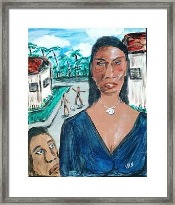 Brasil Framed Print by Van Winslow