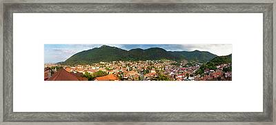 Framed Print featuring the photograph Brasov by Fabrizio Troiani