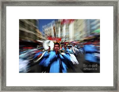 Brass Band Energy Framed Print by James Brunker