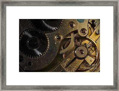 Brass Hearted Framed Print