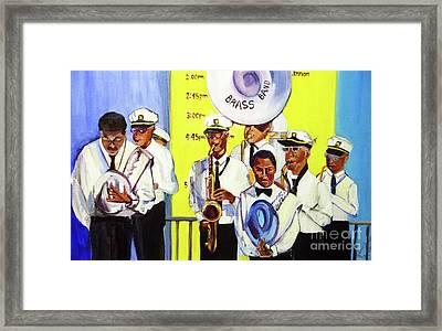 Brass Of  Class New Orleans Framed Print