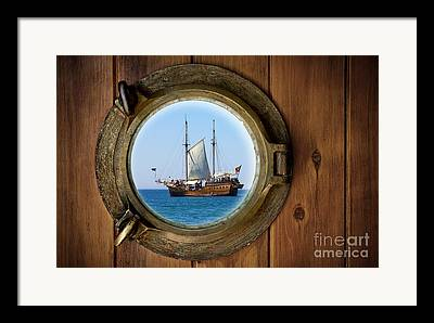 Pirate Ships Framed Prints