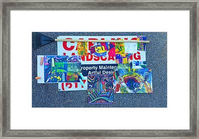 Manic-deppression Class A Framed Print by Ronald Carlino Jr