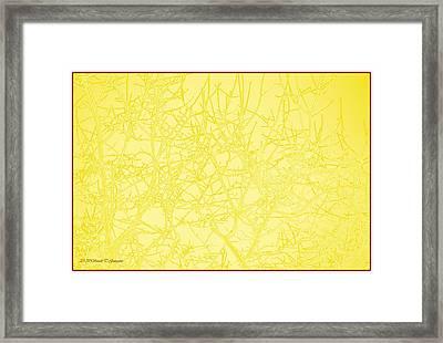 Brass Silhouette Framed Print by Sonali Gangane