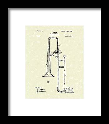 Patent Drawing Framed Prints