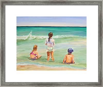 Brats Framed Print by Patricia Piffath