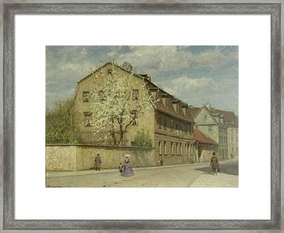 Braune Weimar Framed Print by Christoph Martin Weiland