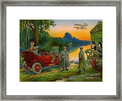 Brave New World 1910 Framed Print by Padre Art