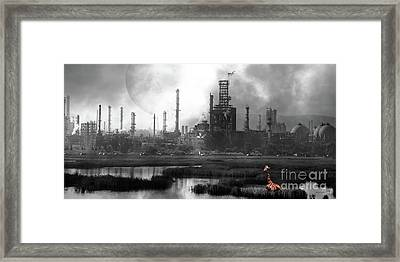 Framed Print featuring the photograph Brave New World 7d10358 V3 Long by Wingsdomain Art and Photography