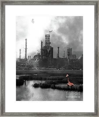 Brave New World 7d10358 V3 Vertical Bw Framed Print