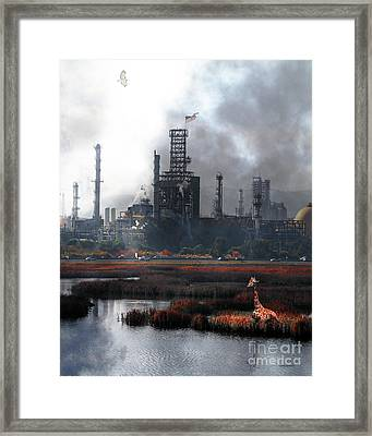 Brave New World 7d10358 V3 Vertical Framed Print by Wingsdomain Art and Photography
