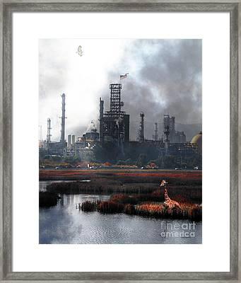 Brave New World 7d10358 V3 Vertical Framed Print