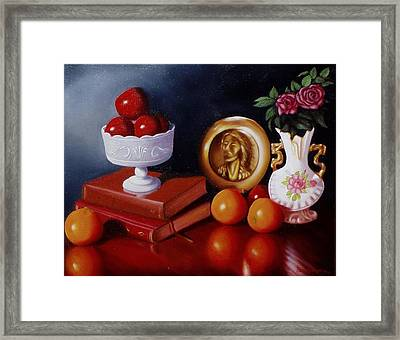 Framed Print featuring the painting Bravo by Gene Gregory