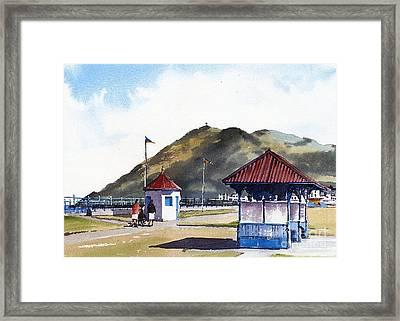 Bray Esplanade, Wicklow Framed Print
