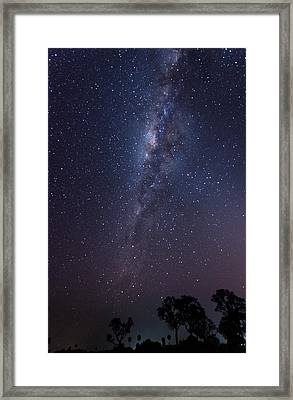 Framed Print featuring the photograph Brazil By Starlight by Alex Lapidus