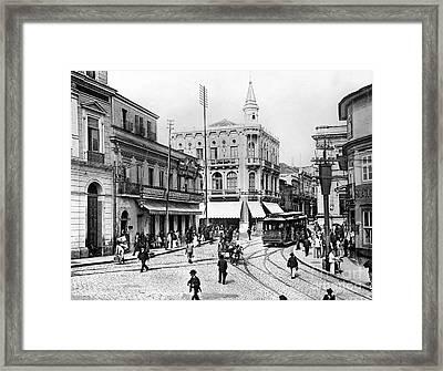 Brazil: Sao Paulo Framed Print by Granger