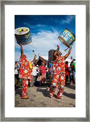 Jazz Fest Brazilian Parade Framed Print