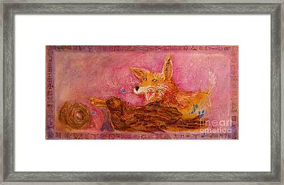 Bre Fox And Bre Crow Framed Print