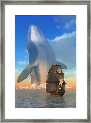 Breach Framed Print by Daniel Eskridge