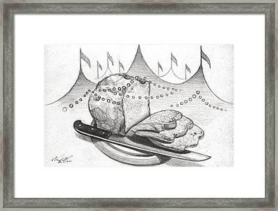 Bread And Circuses Framed Print