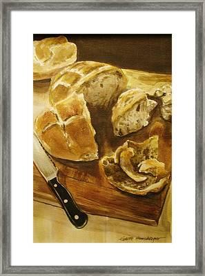 Bread Board Framed Print