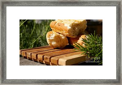 Bread I Framed Print by Louise Fahy