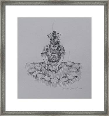 Bread Of The Heart Framed Print by Bruce Zboray