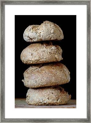 Bread Rolls Framed Print
