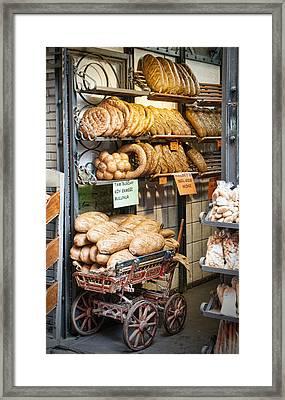 Breads For Sale Framed Print