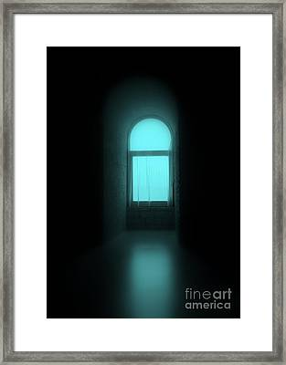 Break Blue Framed Print by Irene Spedicato