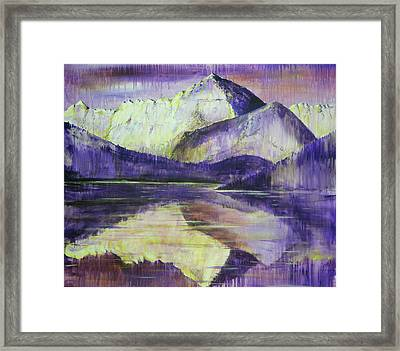 Break In The Storm Framed Print by Chad Rice