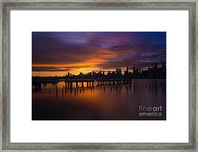 Break Of Dawn Framed Print by Marco Crupi