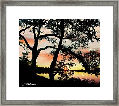 Break Of Dawn Framed Print