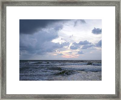 Break Of Day Framed Print