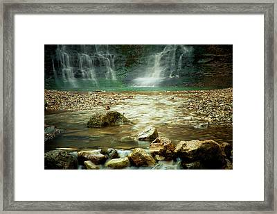 Break Of Silence Framed Print