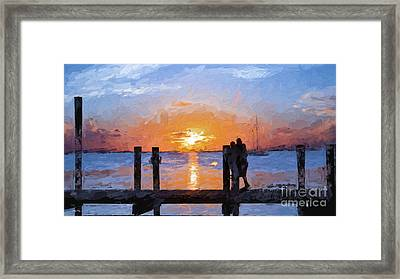 Break On Through  Framed Print